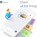 New Google Spaces – Social sharing on 1 tap
